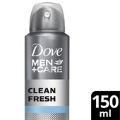 Bild: Dove MEN+CARE clean fresh Deospray