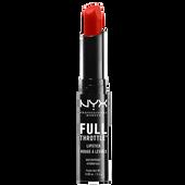 Bild: NYX Professional Make-up Full Throttle Lipstick firestorm