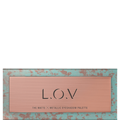 Bild: L.O.V The Matte Metallic Eyeshadow Palette