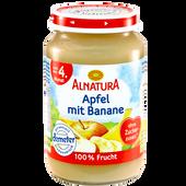 Bild: ALNATURA Apfel mit Banane