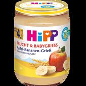 Bild: HiPP Apfel-Bananen-Grieß