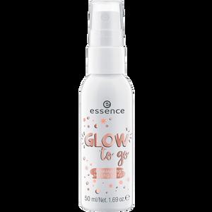 Bild: essence Glow to Go Illuminating Setting Spray