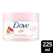 Bild: Dove Creme-Dusch-Peeling Granatapfel & Sheabutter