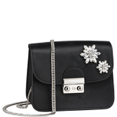 Bild: LOOK BY BIPA Crossbody Bag Sparkle schwarz