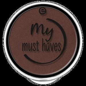 Bild: essence My Must Haves Eyeshadow brownie'licious