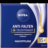 Bild: NIVEA Anti-Falten + Feuchtigkeit Nachtpflege 35+