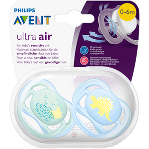 Bild: PHILIPS AVENT Schnuller Ultra Air 0-6M Dino