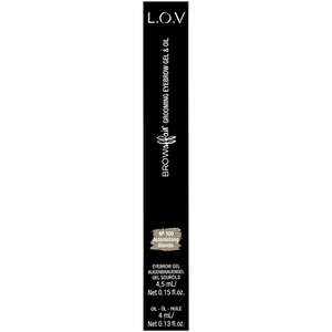 Bild: L.O.V BROWAFFAIR Grooming Eyebrow Gel & Oil 100 astorishing blonde