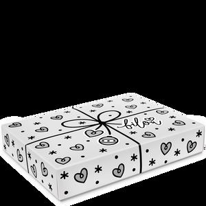 Bild: bilou Geschenkset Silver Sparkle mit Handtuch