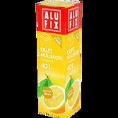 Bild: ALUFIX Duftmüllsäcke mit Zugband spritzige Zitrone 40 l