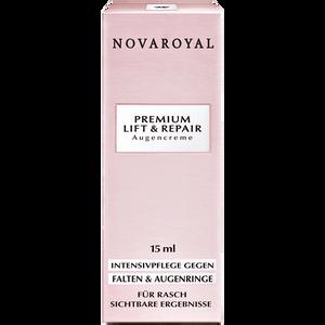 Bild: NOVAROYAL Premium Lift & Repair Augencreme
