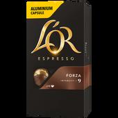 Bild: L´OR Kaffeekapseln Espresso Forza 9