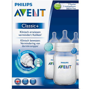 Bild: PHILIPS AVENT Klassik+ Flasche 3er Pack