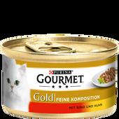 Bild: GOURMET Gold Feine Komposition mit Rind & Huhn