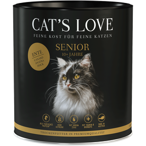 Bild: CAT´S LOVE Senior Ente Trockenfutter