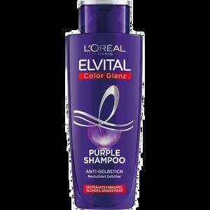 Bild: L'ORÉAL PARIS ELVITAL Color Glanz Purple Shampoo Anti Gelbstich