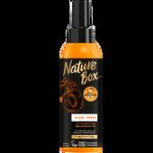 Bild: Nature Box Glanz Spray Aprikosen-Öl