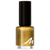 Bild: MANHATTAN Last & Shine Nagellack Xmas Glitter oh my gold!
