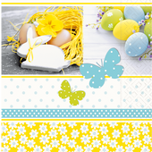 Bild: Paper + Design Servietten Enjoy Easter
