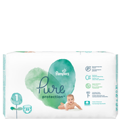 Bild: Pampers Pure Protection Gr. 1 Newborn 2-5 kg
