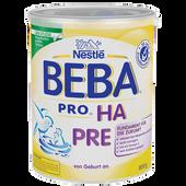 Bild: BEBA HA Pre Säuglingsnahrung
