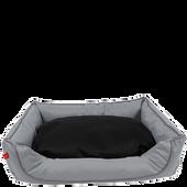 Bild: ZooRoyal Hundebett Hakon grau-schwarz