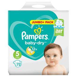 Bild: Pampers Baby-Dry Gr. 5 (11-16kg) Jumbo+ Pack