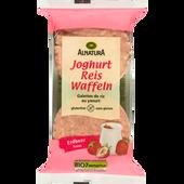 Bild: ALNATURA Joghurt-Erdbeer Reiswaffeln