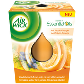 Bild: AIRWICK Duftkerze Anti Tabac-Orange