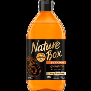 Bild: Nature Box Shampoo Aprikosen-Öl