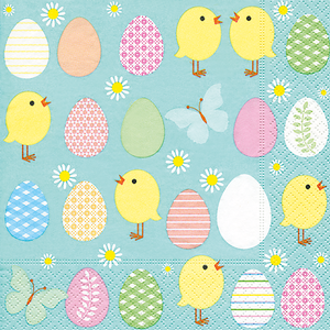 Bild: Paper + Design Servietten Easter all over