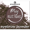 Bild: essence My Must Haves Eyebrow Powder my kind of brown