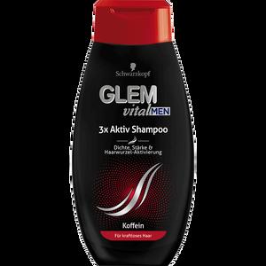 Bild: Schwarzkopf GLEM vital Men 3x Aktiv Shampoo