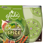Bild: Glade Duftkerze Acoustic Spice LimIted Edition