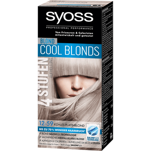 Bild: syoss PROFESSIONAL Cool Blonds platinum blond