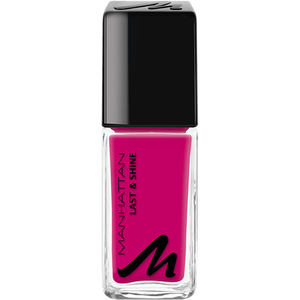 Bild: MANHATTAN Last & Shine Nagellack pink bubble gum