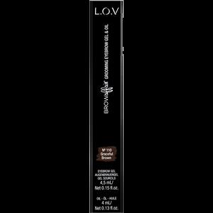 Bild: L.O.V BROWAFFAIR Grooming Eyebrow Gel & Oil 110 graceful brown