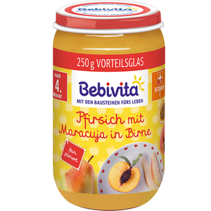Bild: Bebivita Pfirsich mit Maracuja in Birne