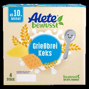 Bild: Alete Grießbrei Keks