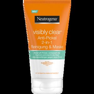 Bild: Neutrogena Visibly Clear Anti-Pickel 2-in-1 Reinigung & Maske