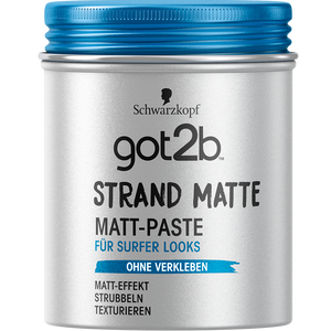 Bild: Schwarzkopf got2b Strand Matte Surfer Look Matt-Paste