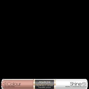 Bild: ASTOR Perfect Stay Transfer Proof Lipgloss Purde Nude