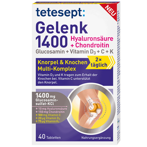 Bild: tetesept: Gelenk 1400 Tabletten