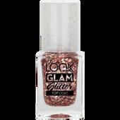 Bild: LOOK BY BIPA Glam Glitter Top Coat rosé