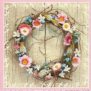 Bild: Paper + Design Servietten Spring Wreath