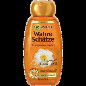 Bild: GARNIER Wahre Schätze Shampoo - Der wunderbare Nährer