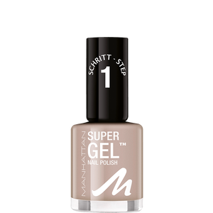 Bild: MANHATTAN Super Gel Nail Polish time for taupe