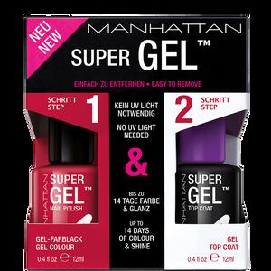 Bild: MANHATTAN Super Gel Nail Polish + Top Coat ladies night