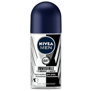 Bild: NIVEA MEN Roll-on Invisible Black&White Power