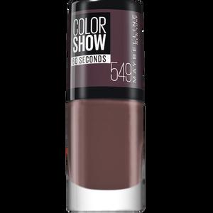 Bild: MAYBELLINE Colorshow 60 seconds Nagellack Minight Taupe